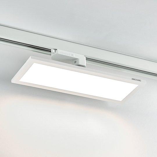 Arcchio Hairis 3-vaihe-LED-paneeli 4000K valkoinen