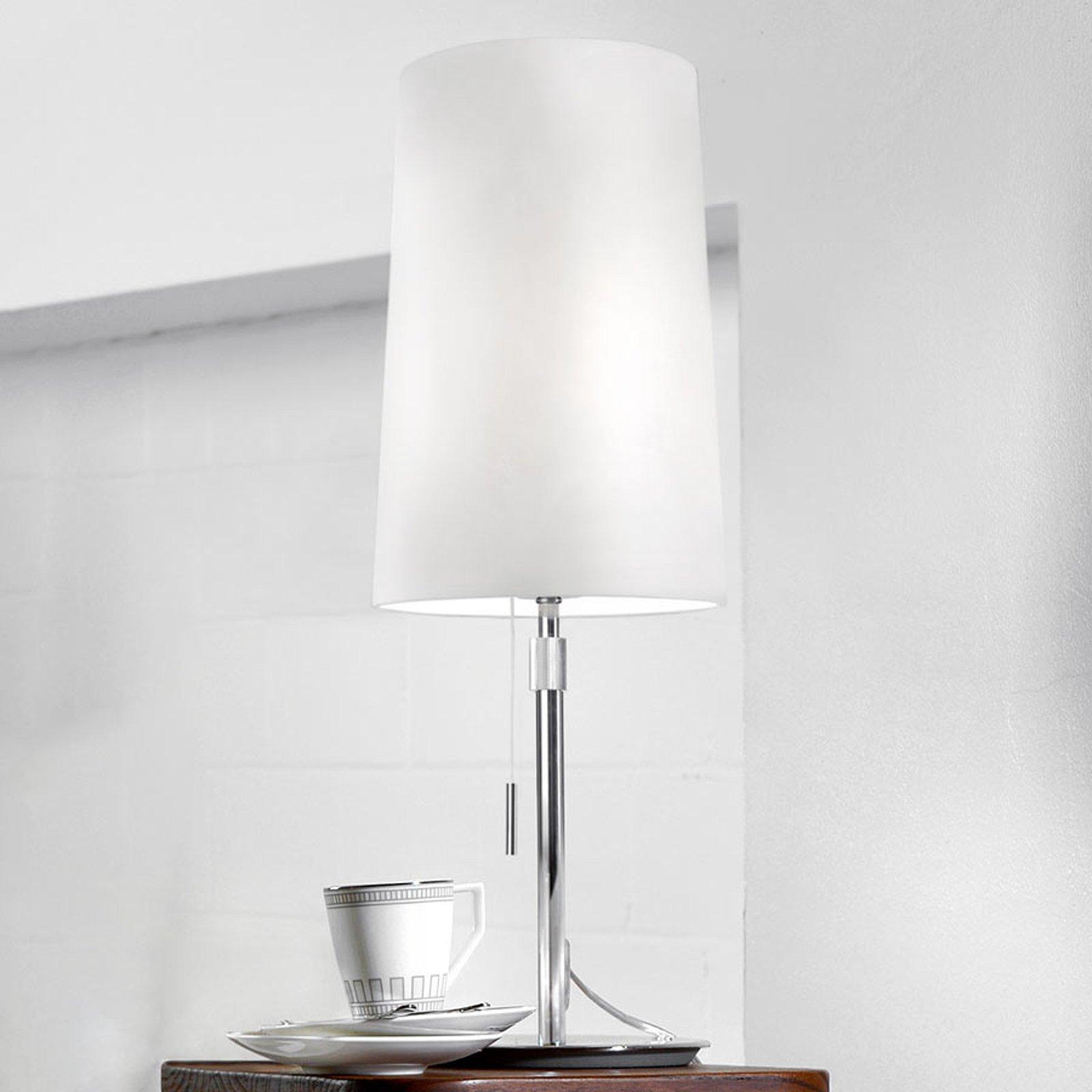 Villeroy & Boch Verona tekstil-bordlampe i hvit
