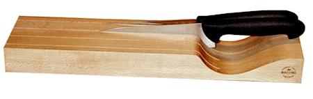 Knivblock Liggande för 4 knivar