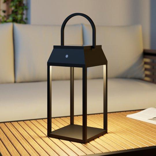 Lucande Maleos -LED-aurinkolyhty, himmennettävä