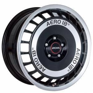 Ronal R50 Aero Gloss Black Polished 7.5x16 4/100 ET38 B68