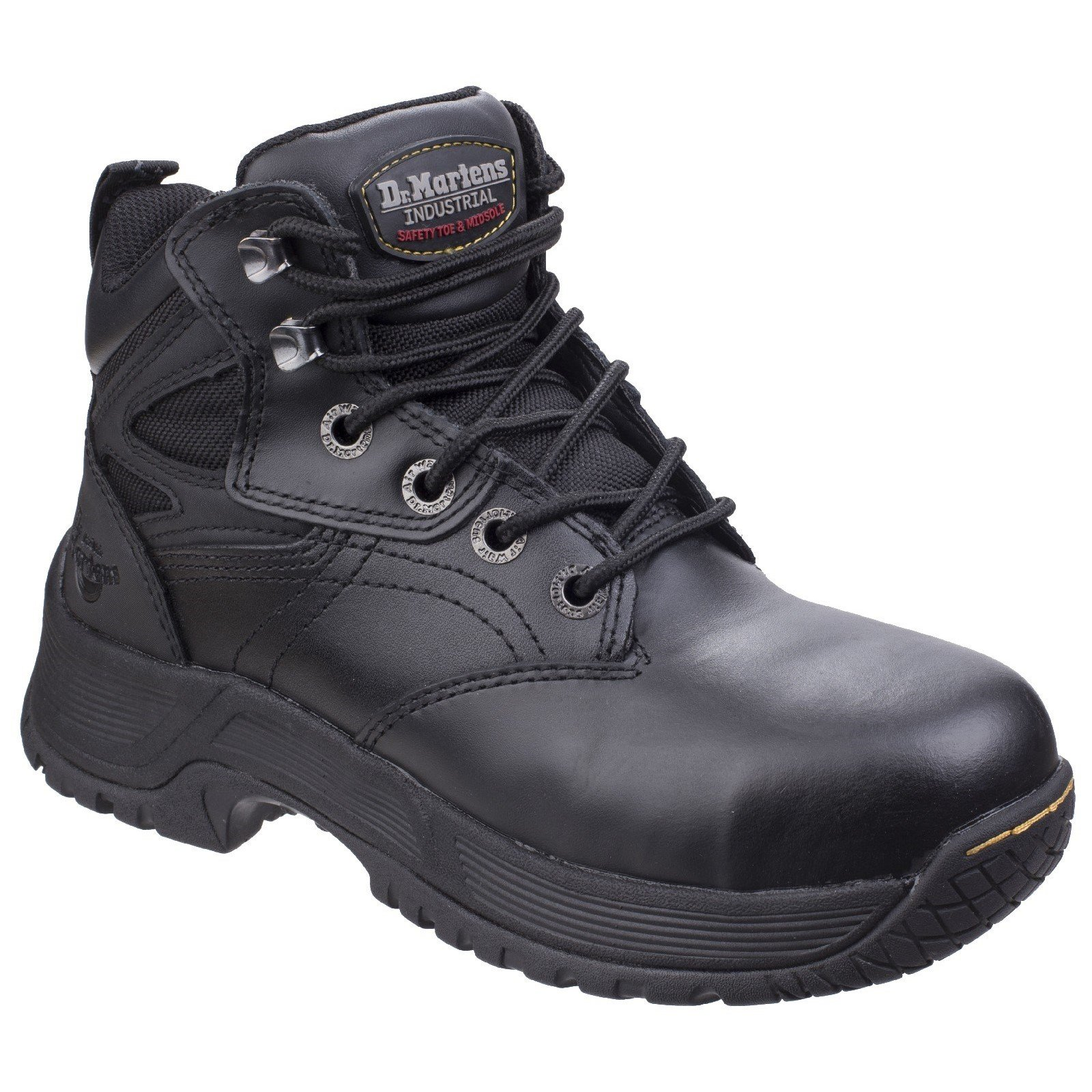 Dr Martens Men's Torness Safety Boot Black 26020 - Black 4