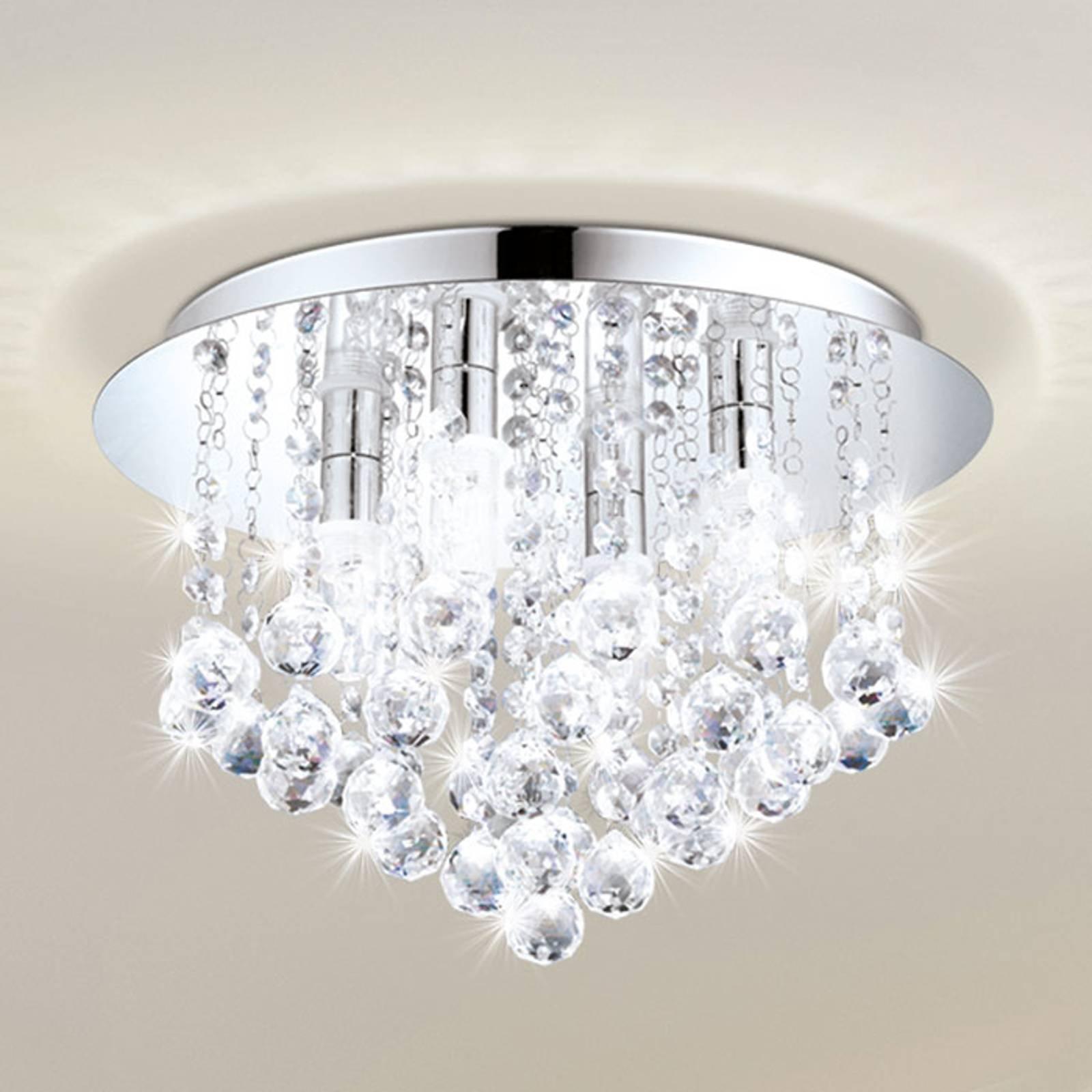 LED-taklampe Almonte med forheng 50 cm