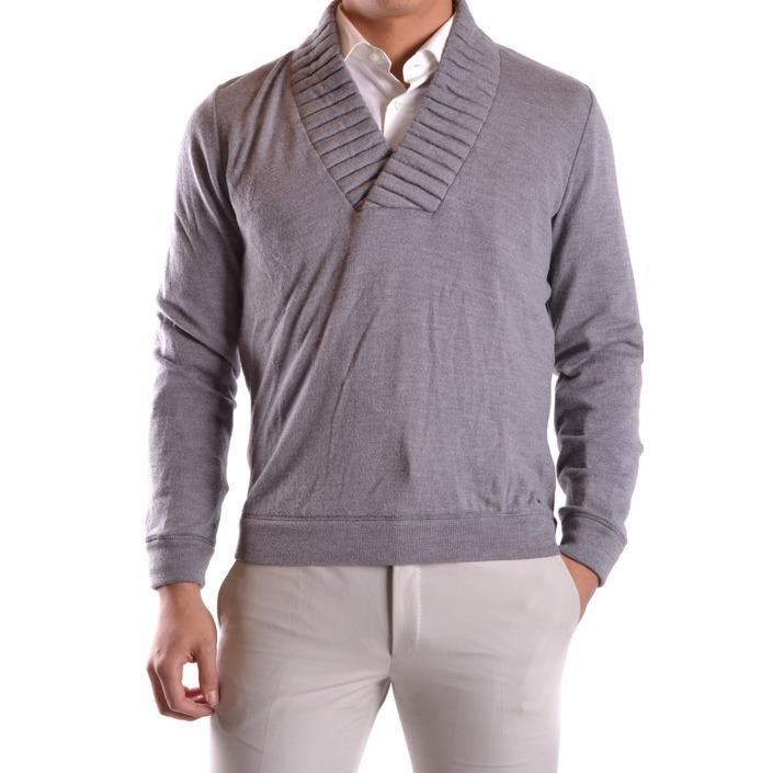 Frankie Morello Men's Sweater Grey 162648 - grey S