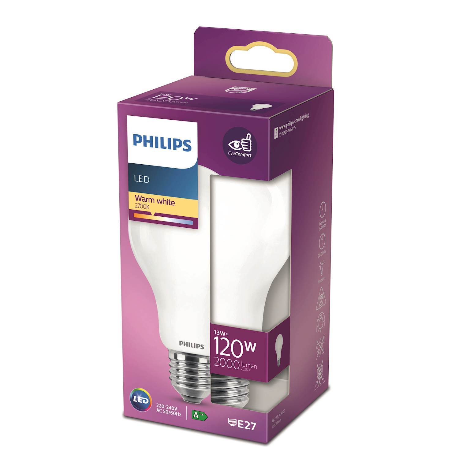 Philips LED Classic 120w norm e27 nd