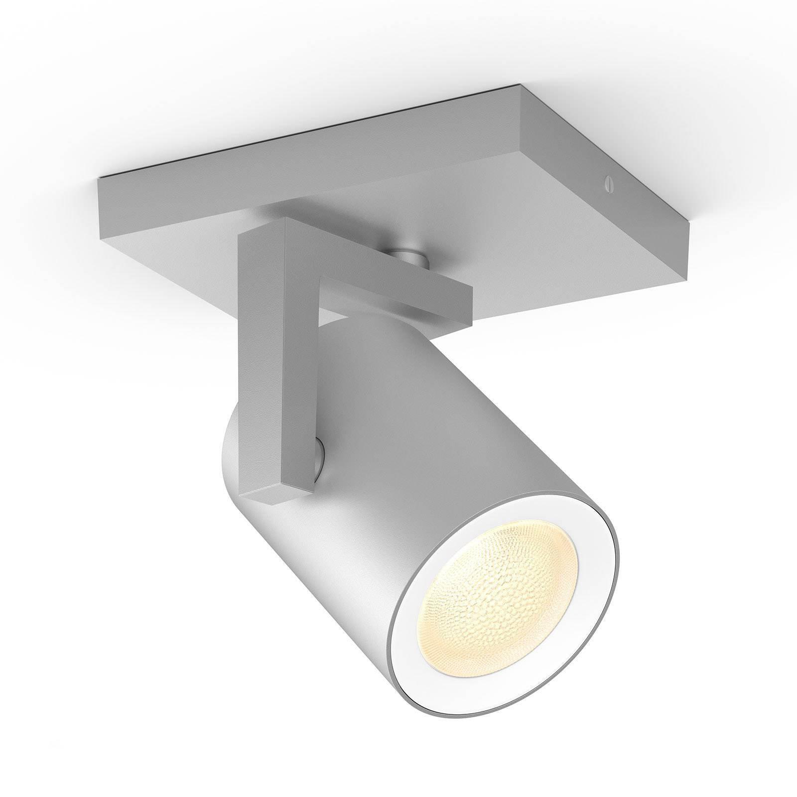 Philips Hue Argenta LED-spot en lyskilde aluminium