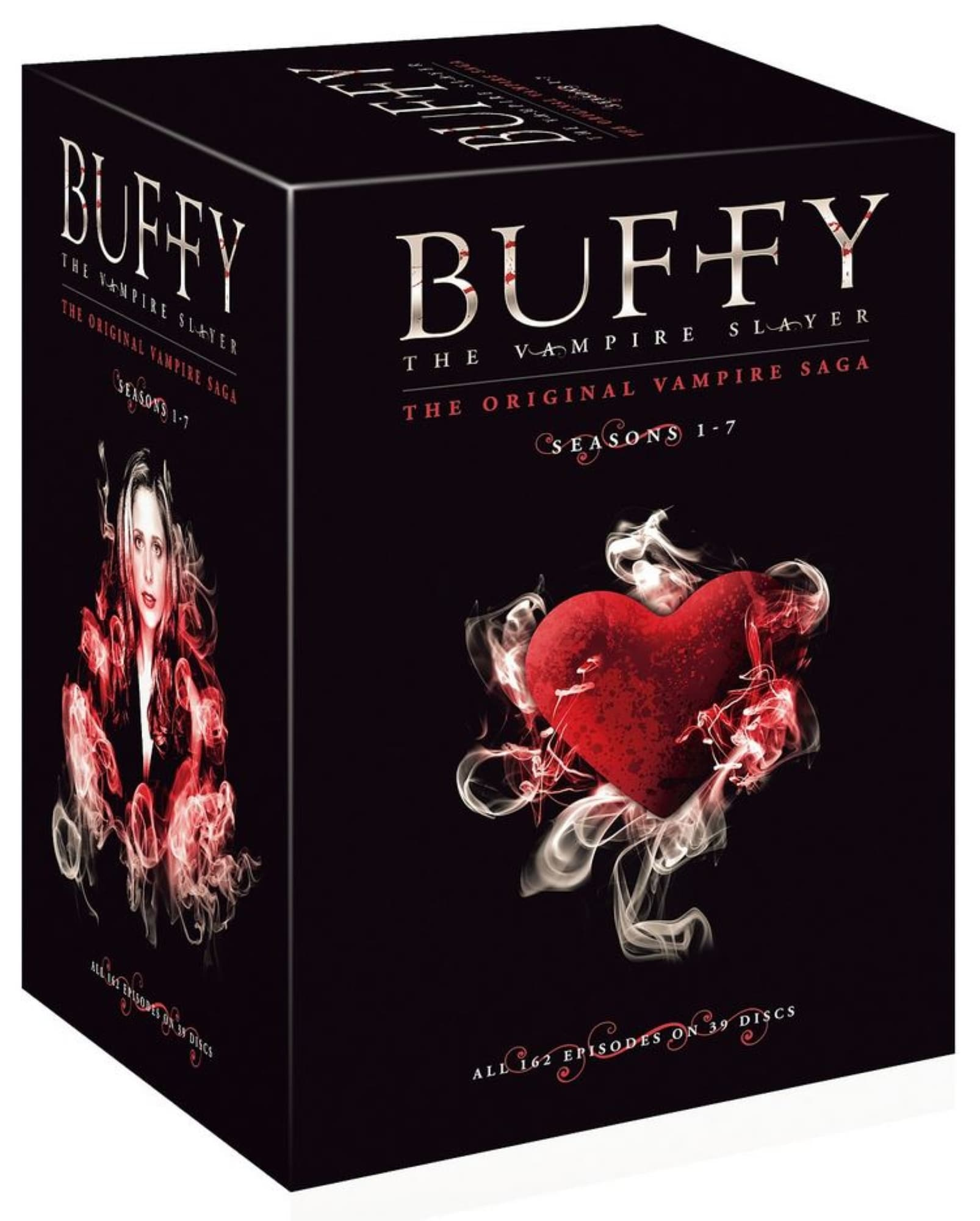 Buffy The Vampire Slayer Box - Complete series 1-7 (39 disc) - DVD