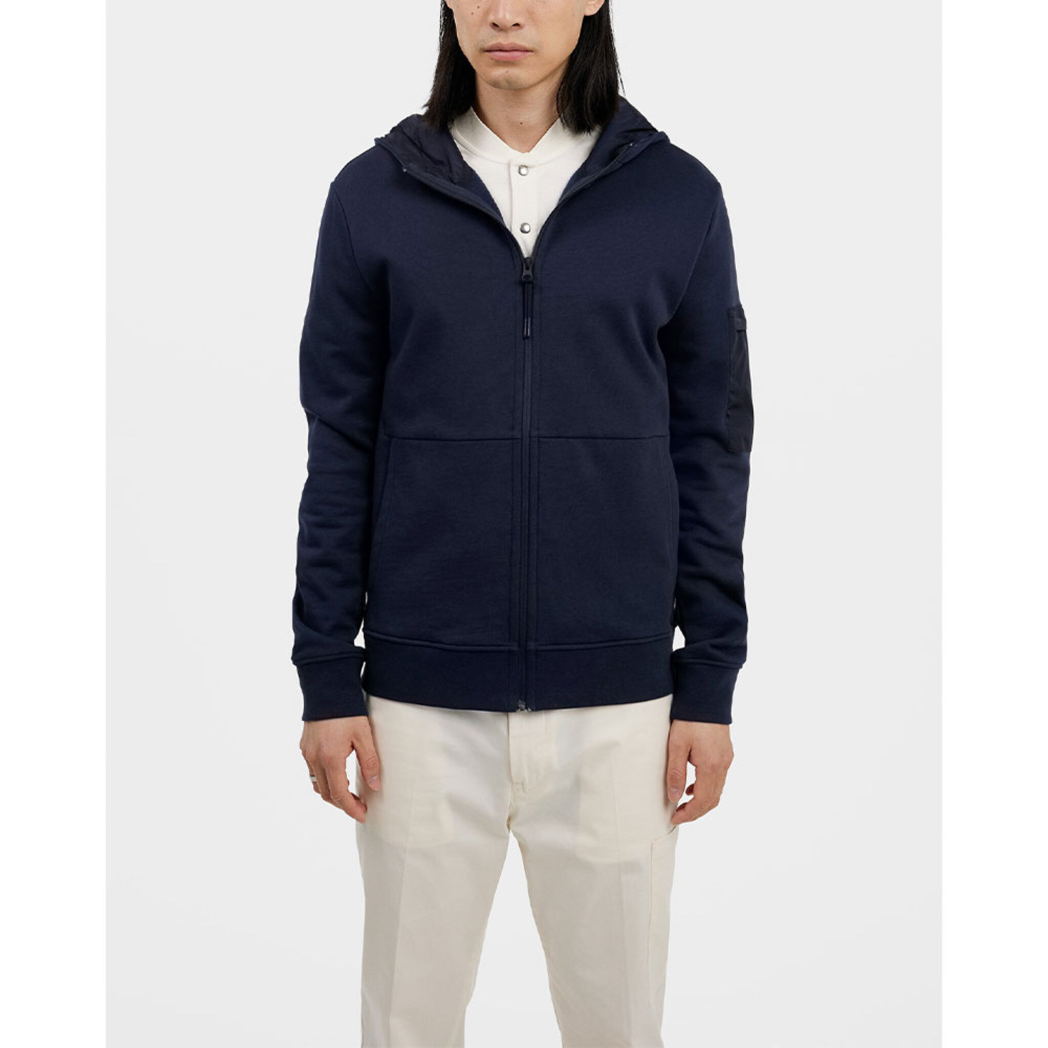 Faron Hood Jacket Sweater