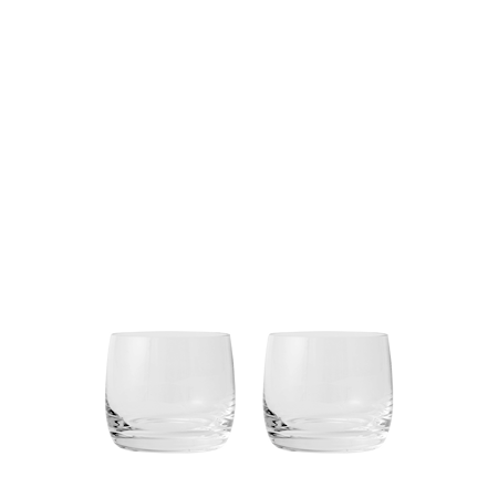 AB/C Munnblåst Vannglass Klar 28cl 2-pakning