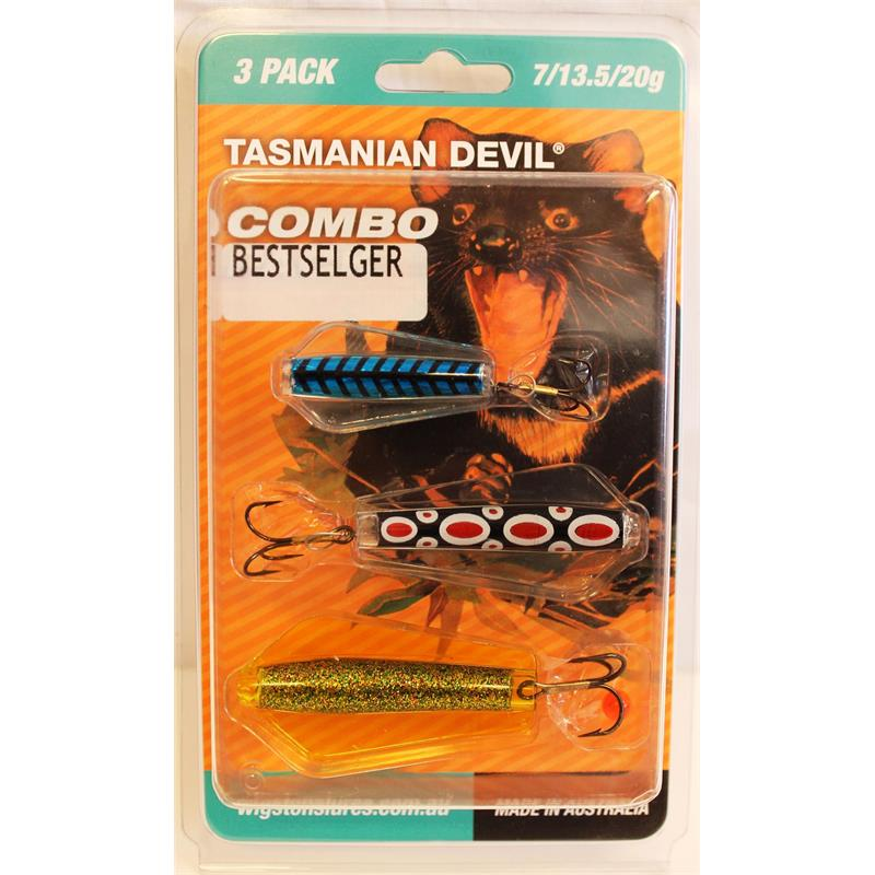 Tasmanian D Sluksett Bestselgere 3-pack