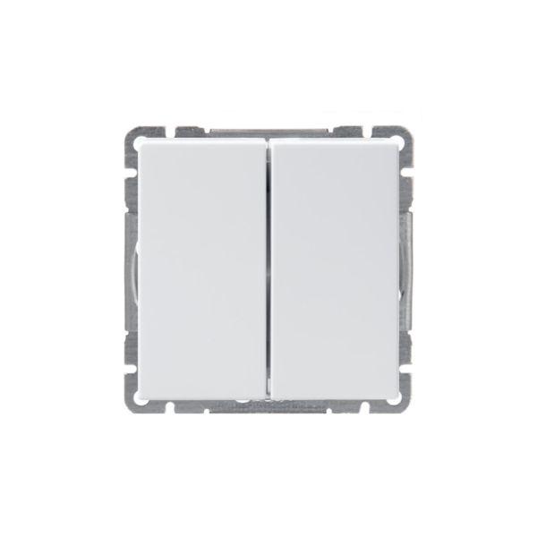 ABB Impressivo Strømstiller hvit Kronevender