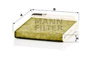 Raitisilmasuodatin MANN-FILTER FP 1829