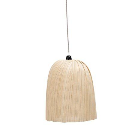 Taklampe Bambus Natur Ø32x40cm