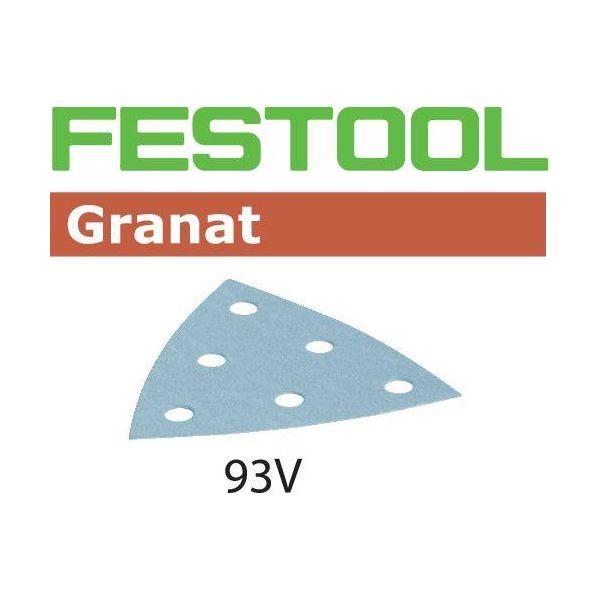 Festool STF GR Hiomapaperi V93, 6-reikäinen, 100 kpl P100