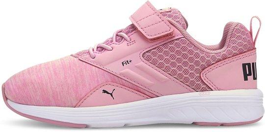 Puma Comet V PS Sneaker, Pale Pink, 29