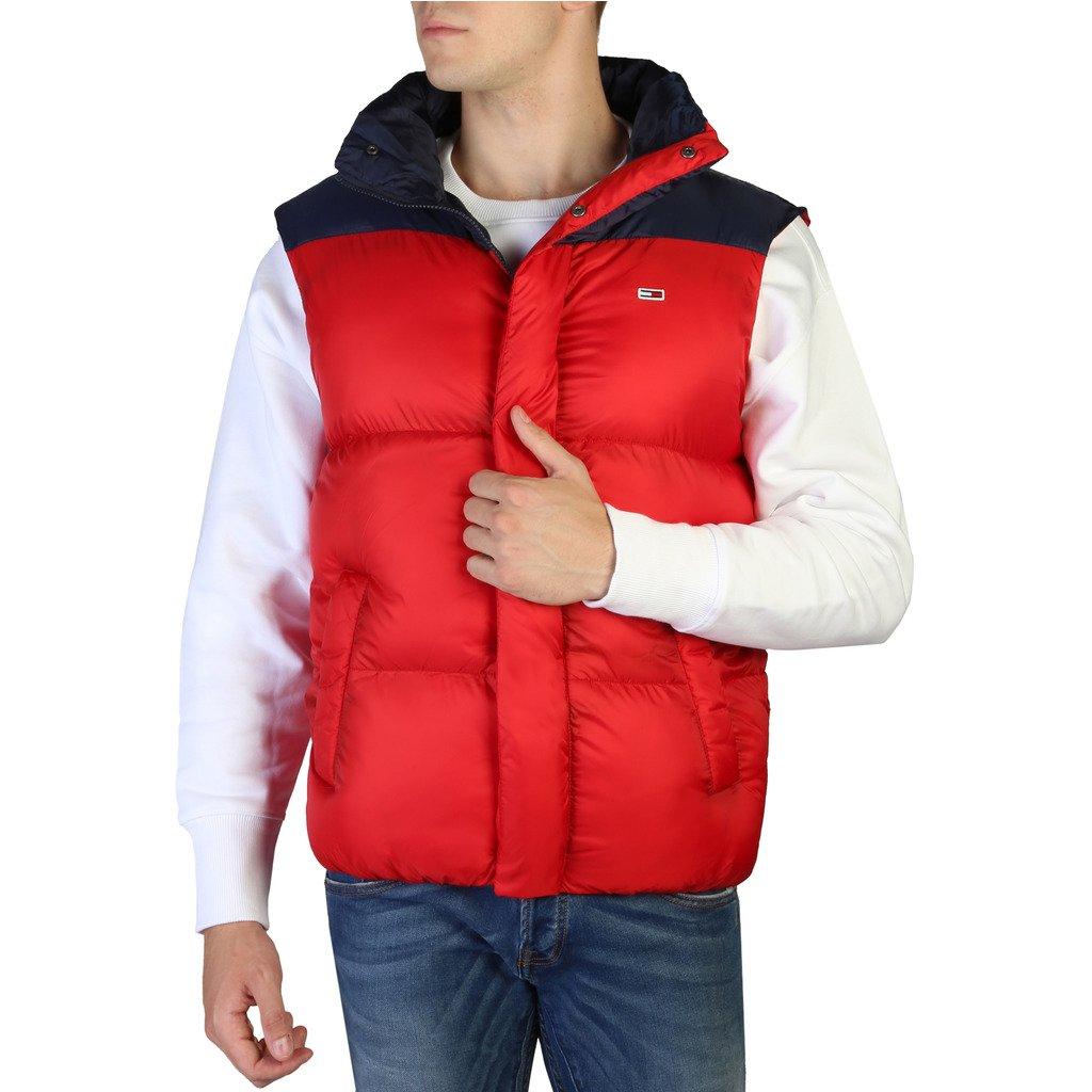 Tommy Hilfiger Men's Jacket Red DM0DM05028 - red XS