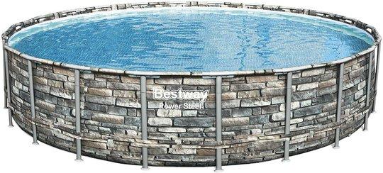 Bestway Power Steel Pool Med Tilbehør, 671x132 cm