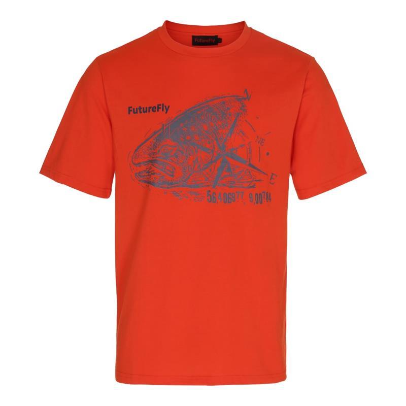 FutureFly Basic Line t-shirt XL Orange