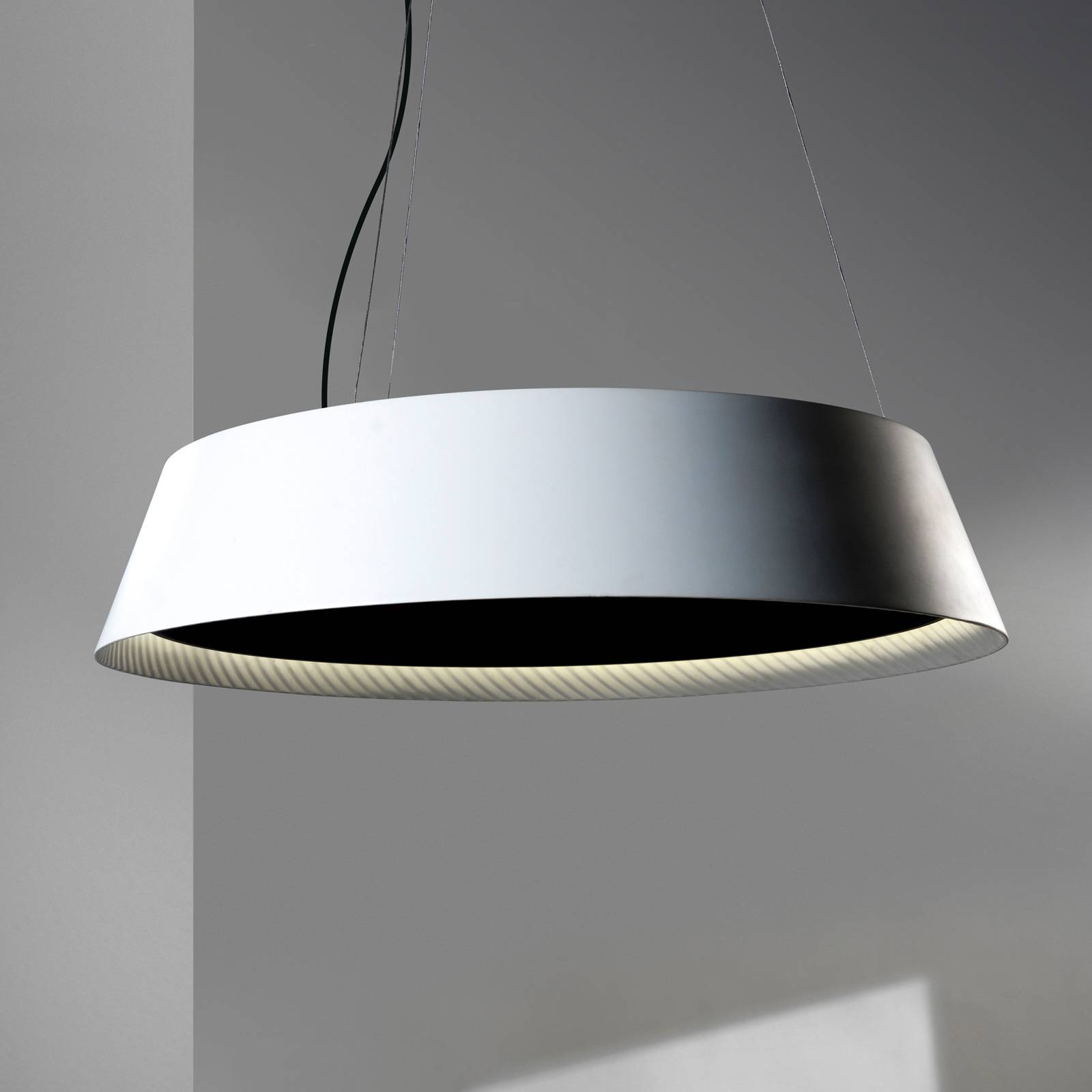 Grok Ringofire -LED-riippuvalaisin, Ø 95 cm