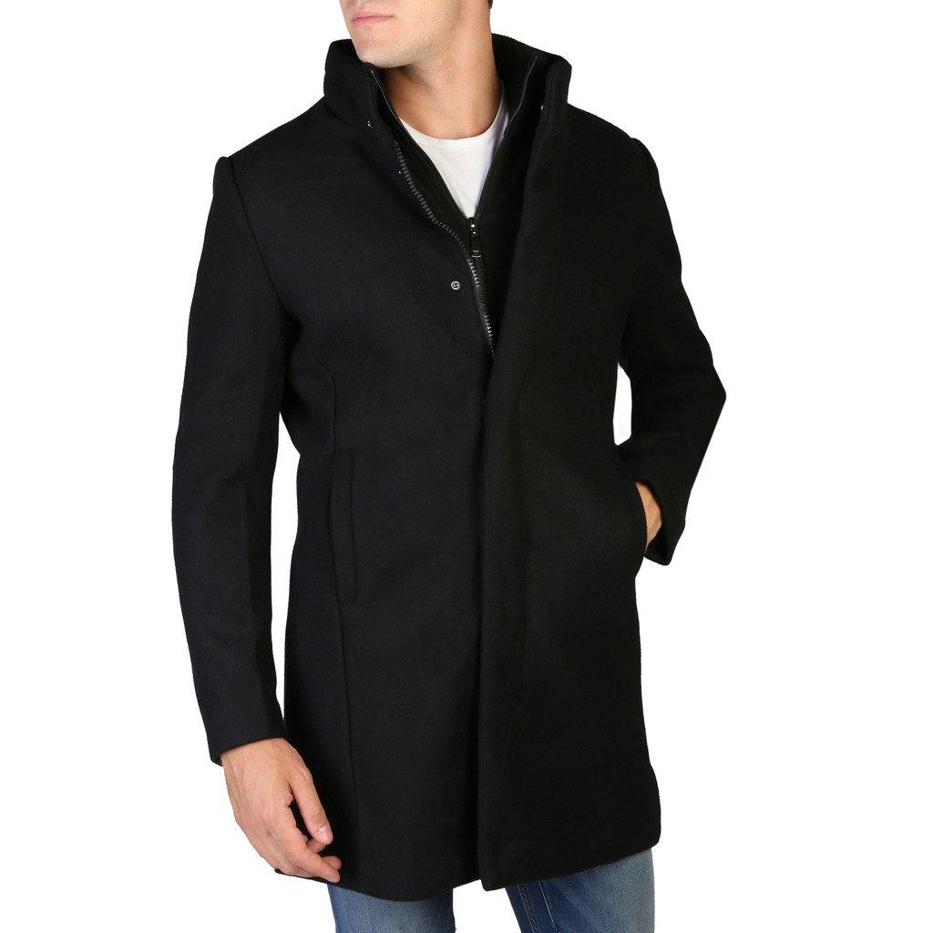 Alessandro Dell'Acqua Men's Jacket Black 348372 - black L