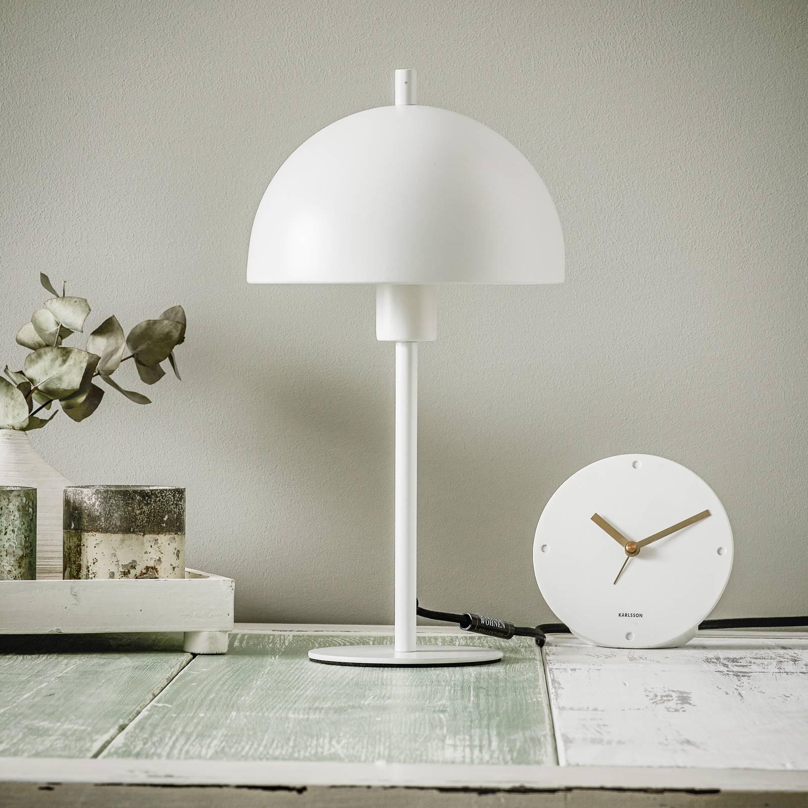 Schöner Wohnen Kia -pöytälamppu valkoinen, 34 cm