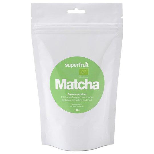 Superfruit Matcha-tepulver, 100 g