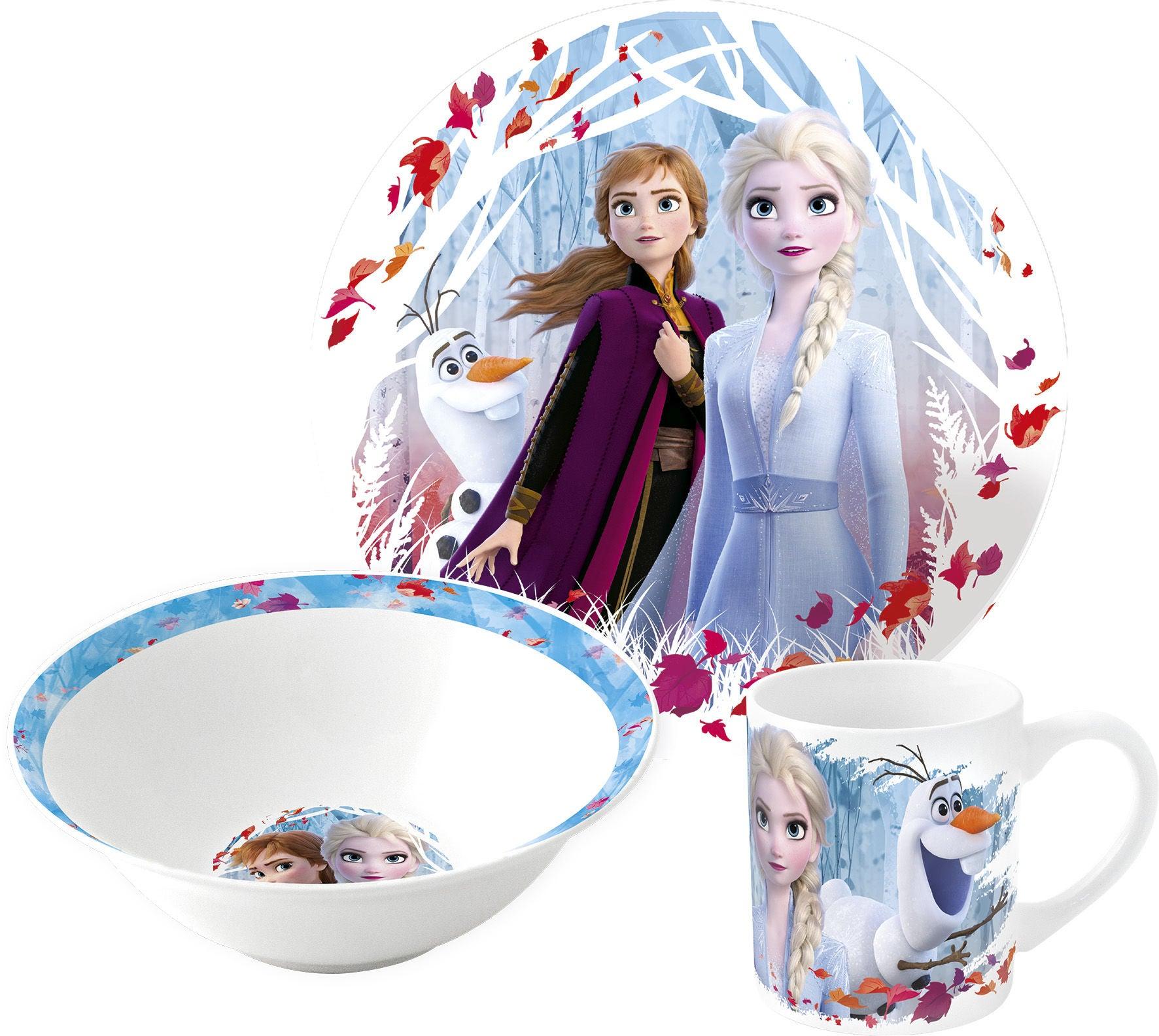 Disney Frozen Matset Keramik, Blå