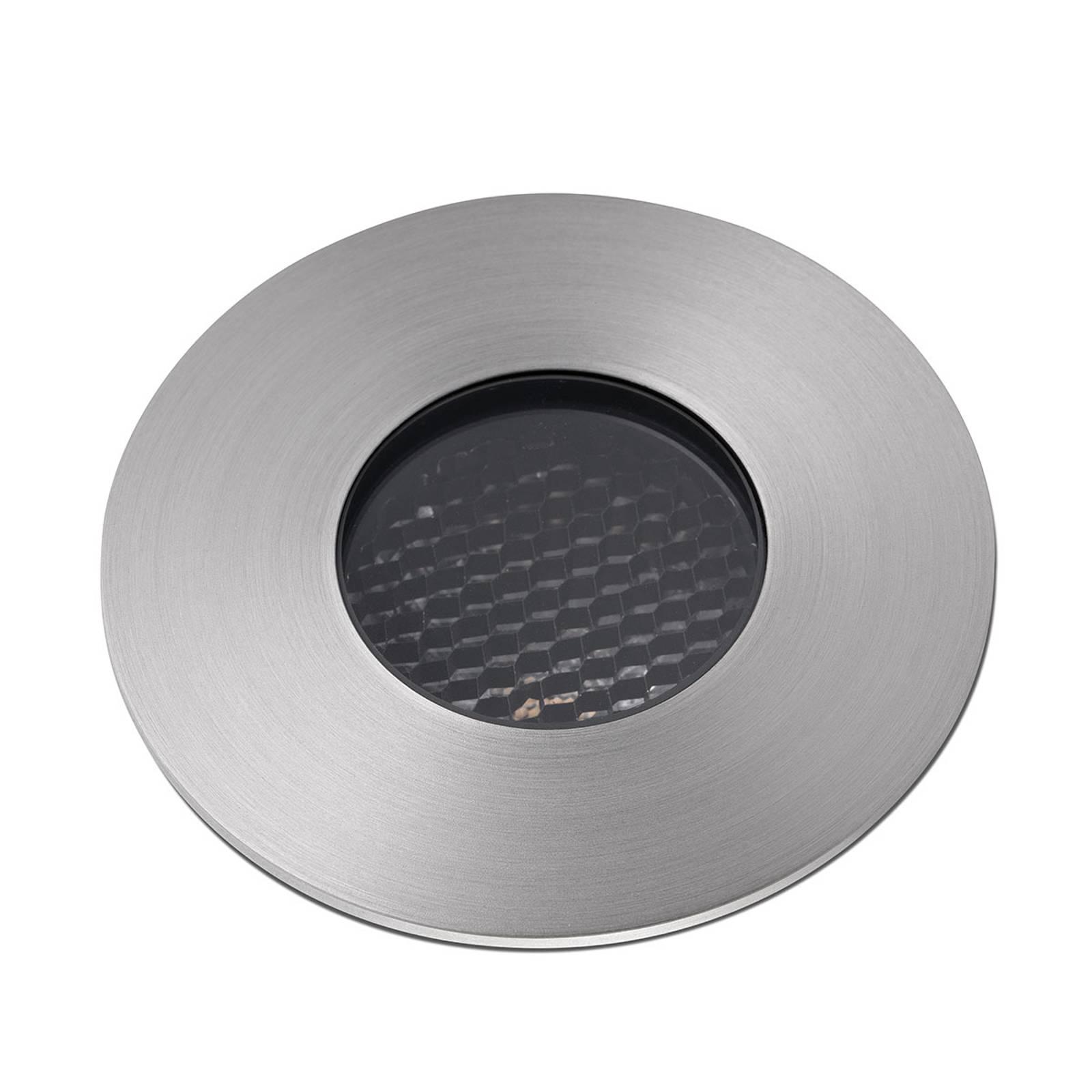 Merivedenkestävä LED-uppokohdevalo Grund, Ø 8 cm