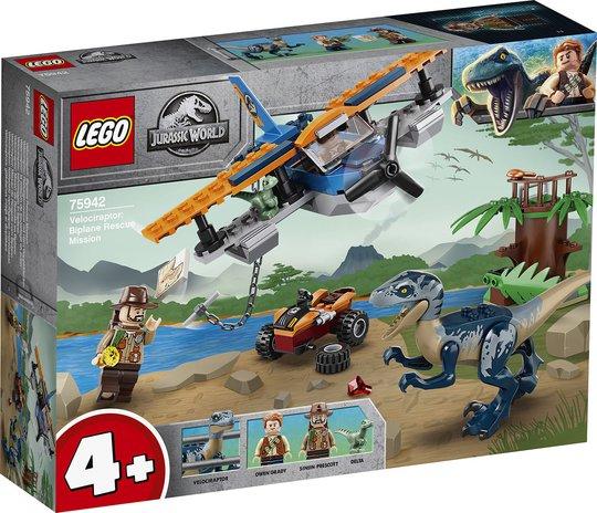 LEGO Jurassic World 75942 Velociraptor: Todekker til unnsetning
