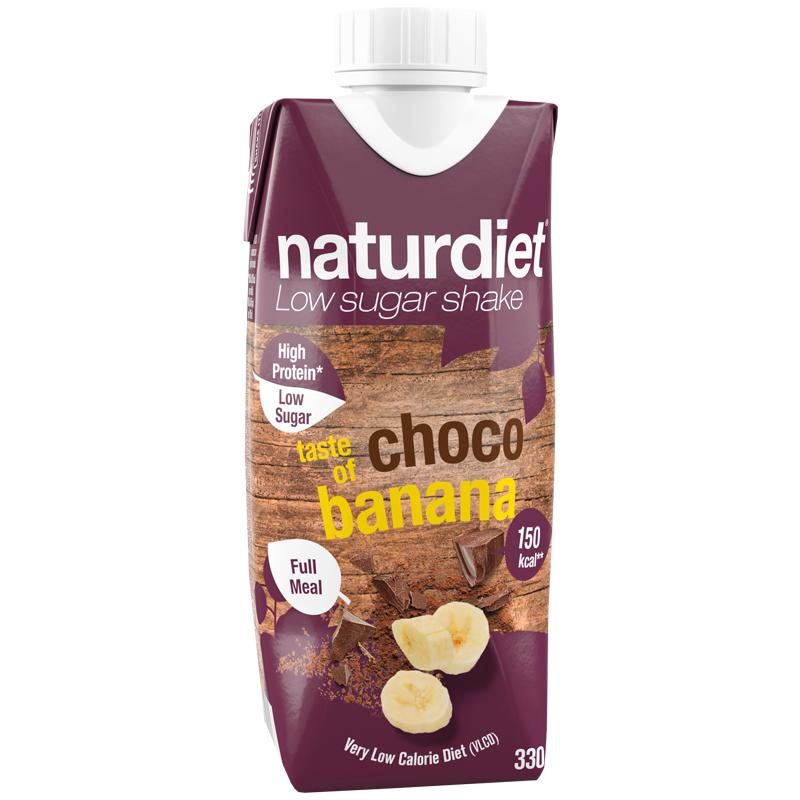 Måltidsersättningsshake Choklad & Banan - 38% rabatt