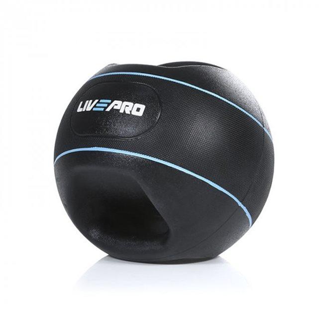 LivePro Double Grip Medicine Ball, Medicinboll