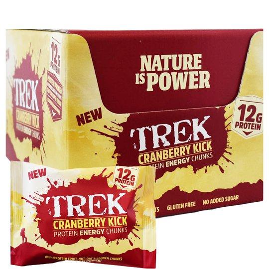 "Hel Låda Proteinbitar ""Cranberry Kick"" 14 x 60g - 67% rabatt"