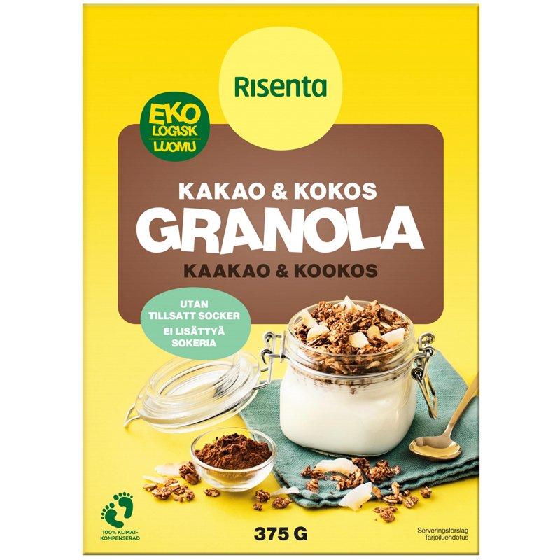 Granola Kaakao & Kookos - 28% alennus