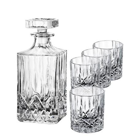 Harvey Whiskey-Set Karaff + 4 Glas 24 cl