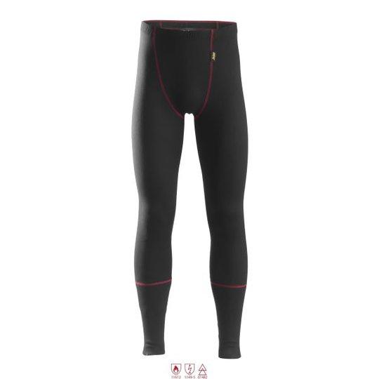 Snickers 9460 ProtecWork Pitkät alushousut musta, palosuojattu XS