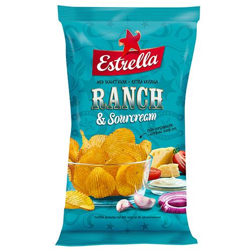 Ranch Sourcream Chips 175g