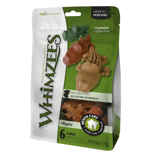 Whimzees Alligator Large 6-pack