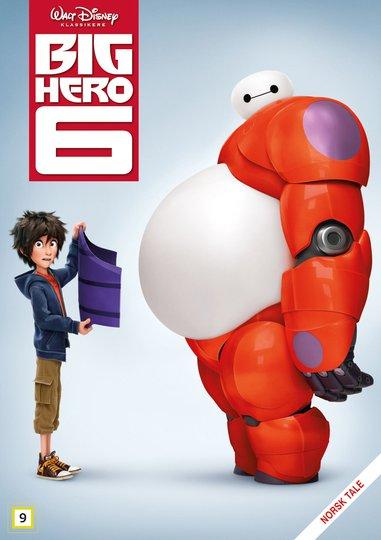 Disney Big Hero 6 DVD