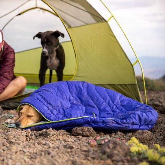 RuffWear Highlands Hundsovsäck Lila (M)