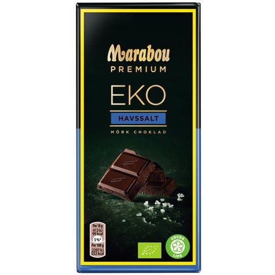 "Eko Mörk Choklad ""Sea Salt"" 90g - 50% rabatt"