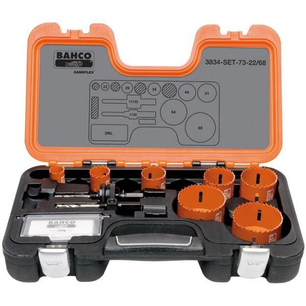Bahco 3834-SET-73-22/68 Hullsagsett