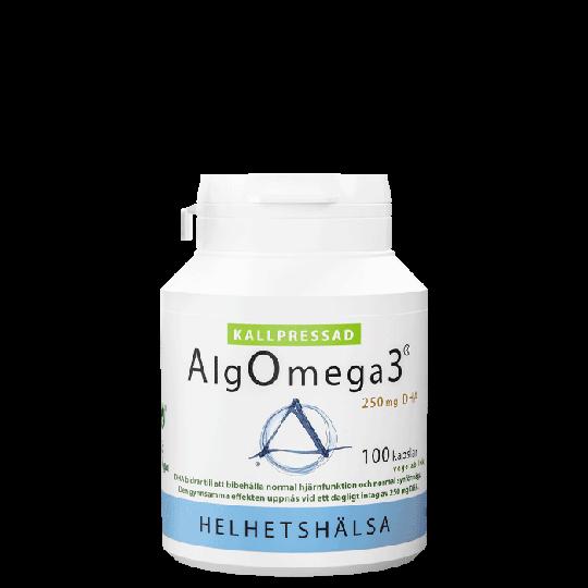 AlgOmega3® Kallpressad, 100 kapslar