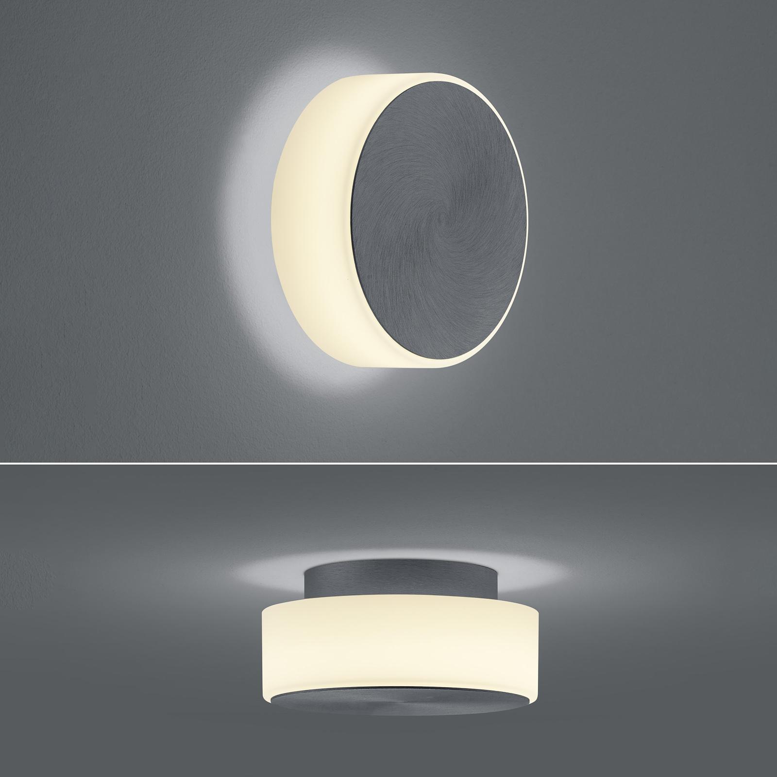 BANKAMP Button LED-seinävalo 15,5cm antrasiitti