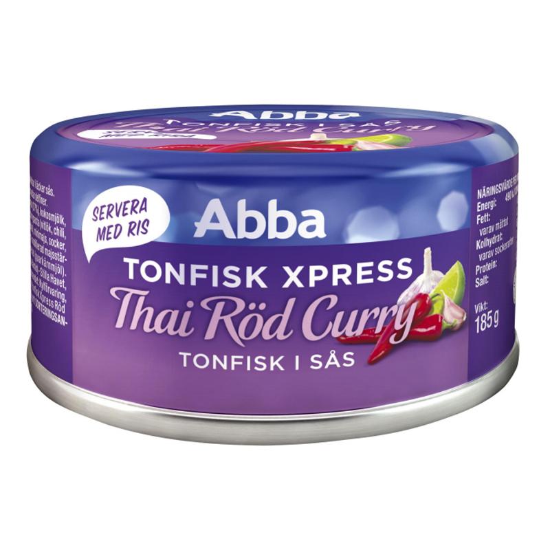 Tonfisk Thai Röd Curry 185g - 60% rabatt