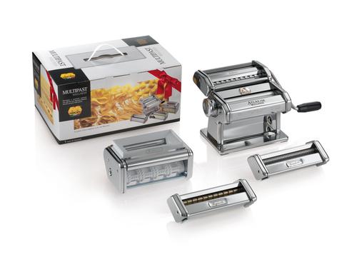 Marcato Multipast Set Pastamaskiner - Krom