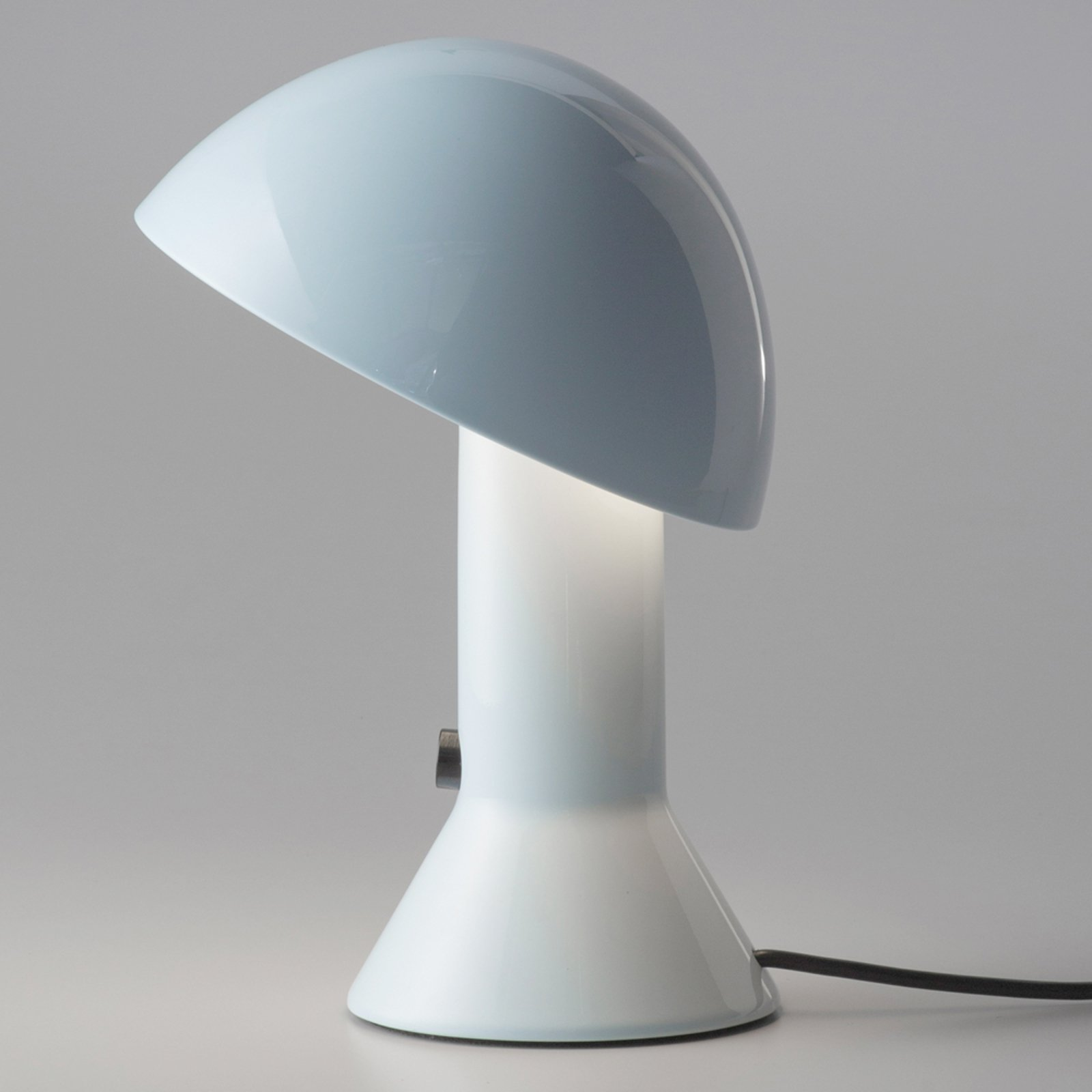 Martinelli Luce Elmetto - bordlampe, lyseblå