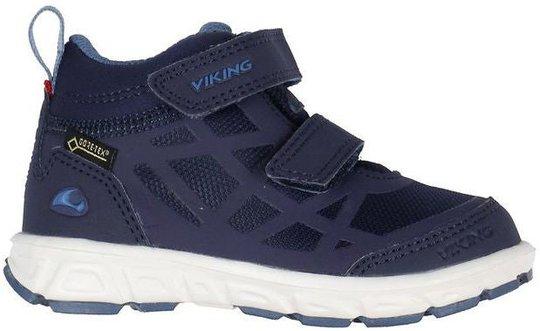 Viking Veme Mid R GTX Sneaker, Navy/Demin, 23