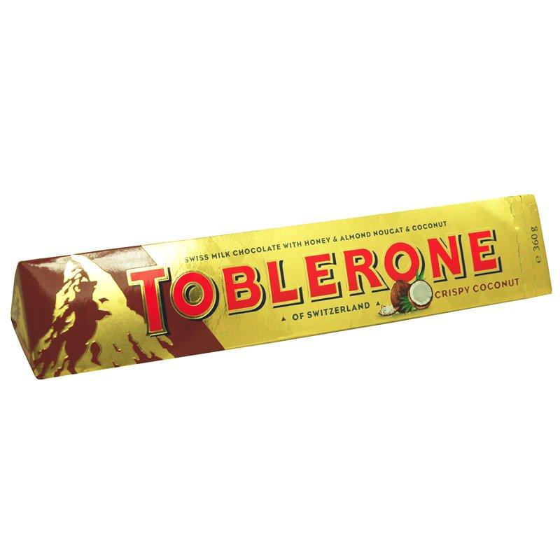 Toblerone Kokos - 22% rabatt