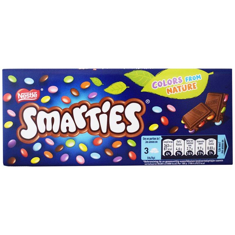 Smarties Suklaalevy - 36% alennus