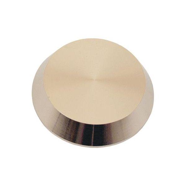 ASSA 409398100002 Dekkskilt 11 mm Forniklet
